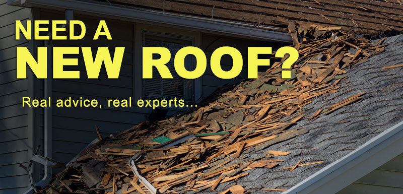 Need a new roof - Tear-off roof
